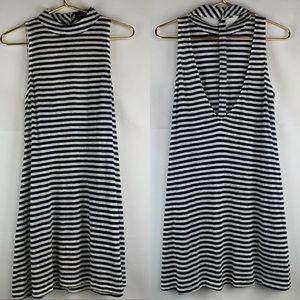 Minkpink back cutout mini dress, XS